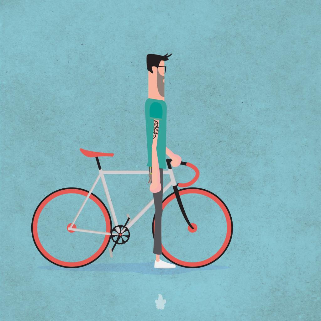 illustrazione digitale fixter