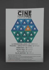 Locandina e pieghevole Cineforum 2014