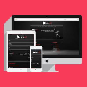 sito web responsive Danzart Academy